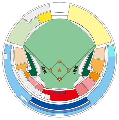 ZOZOマリンスタジアム座席表1